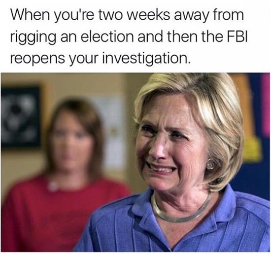 Hillary FBI meme