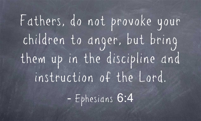 Bible verses for fathers