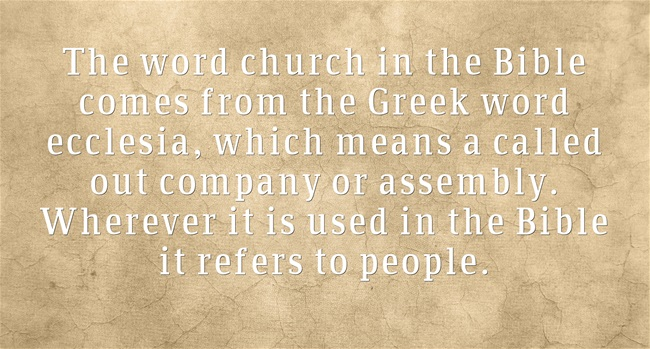 Bible Definition of Church