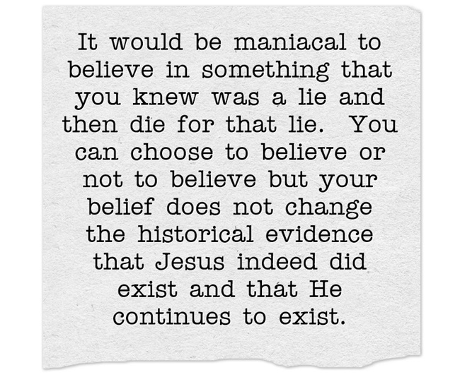 Jesus Was Real Evidence
