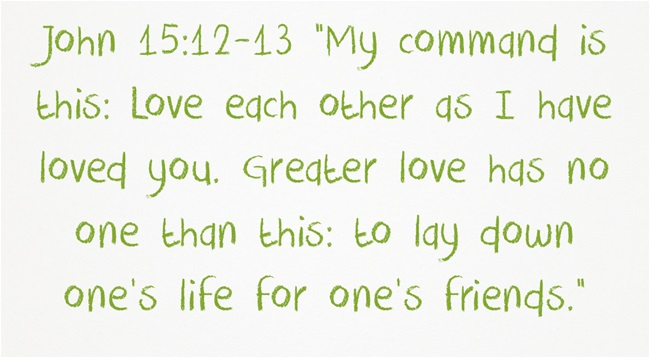 bible verse about understanding each other