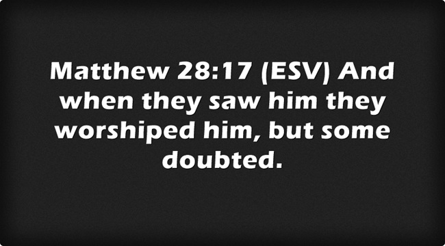 Bible Verses About Doubting
