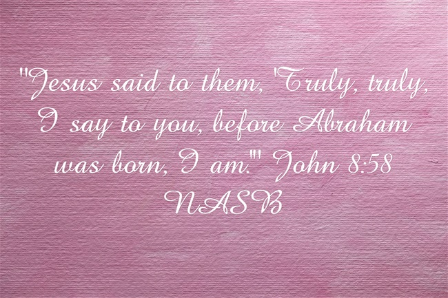 Bible verses that say Jesus is God