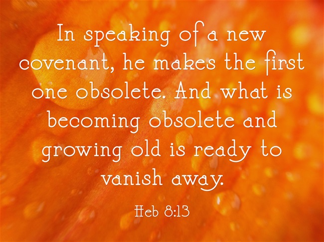 difference between old covenant and new covenant