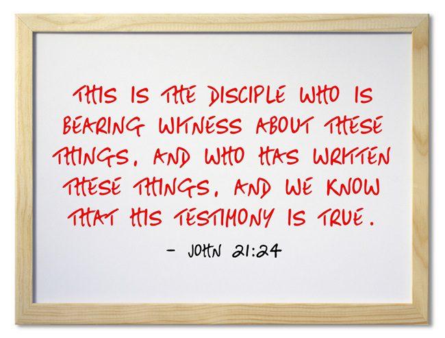 What Books Of The Bible Did John Write Jack Wellman
