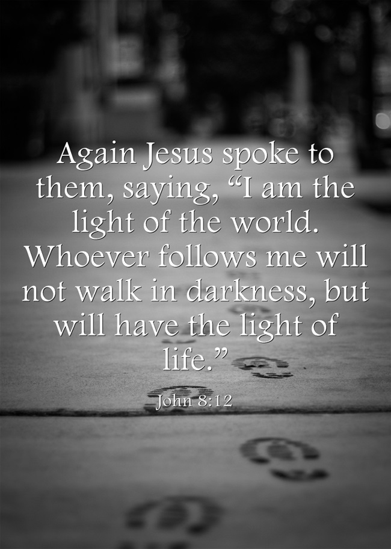 Again Jesus Spoke To