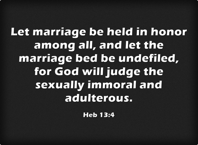 what does the bible say about troubled marriages