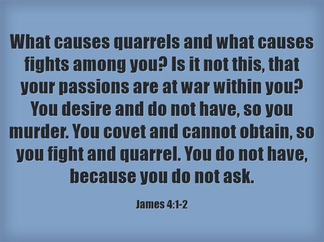 Top 7 Bible Verses About Arguing | Jack Wellman