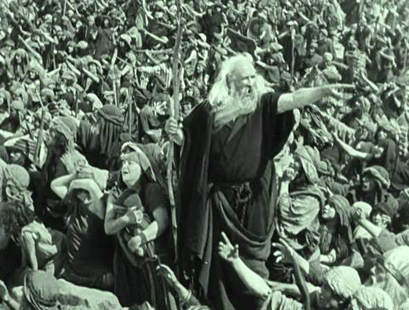 Ten commandments orgy scene
