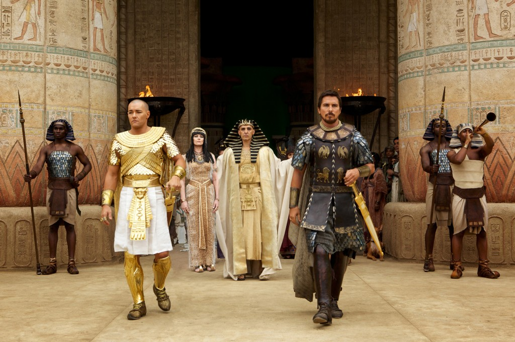 Activists: Based on this screen shot, I can tell this film is racist--you must not see it!  Me: John Turturro and Sigourney Weaver are playing the Pharaoh and his wife? I HAVE to see it!