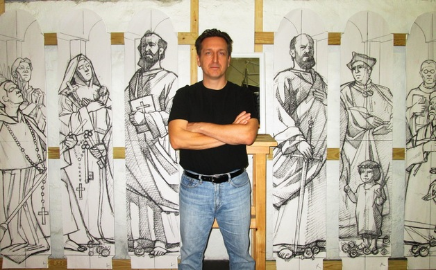 carlin communion of saints sketches