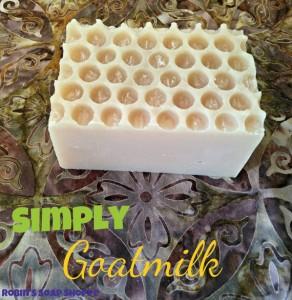 robin soap goatmilk beeswax