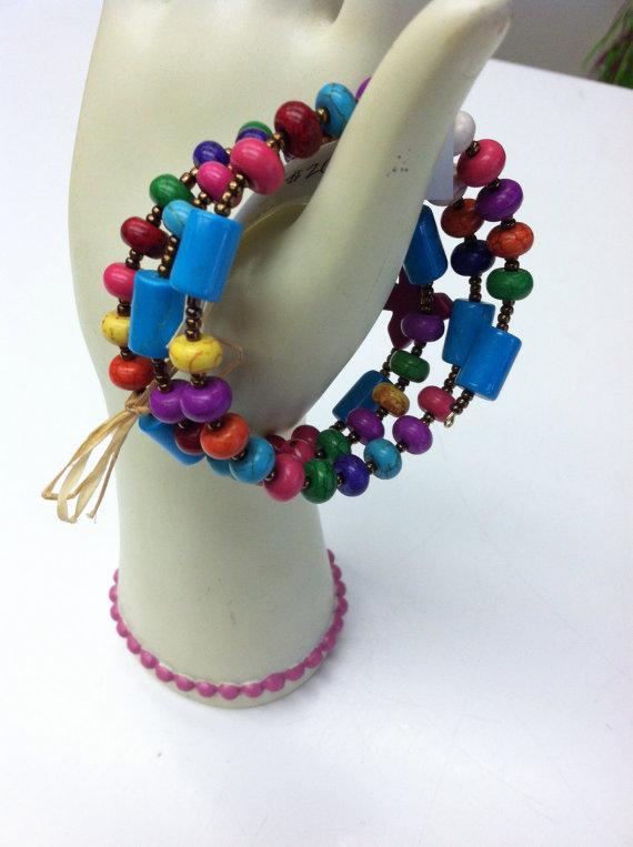 """The """"Be Bold"""" rosary bracelet from Apple and Azalea"""