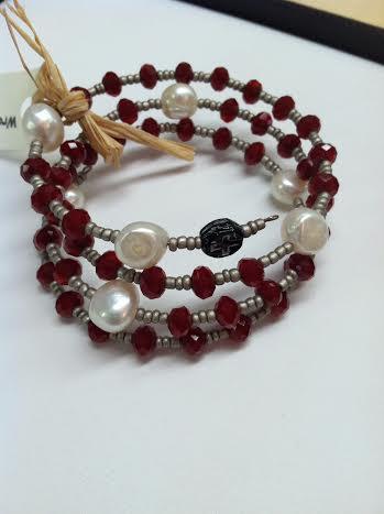 garnet rosary