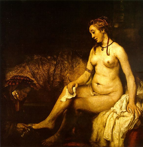 Rembrandt_Bathsheba_in_het_bad,_1654