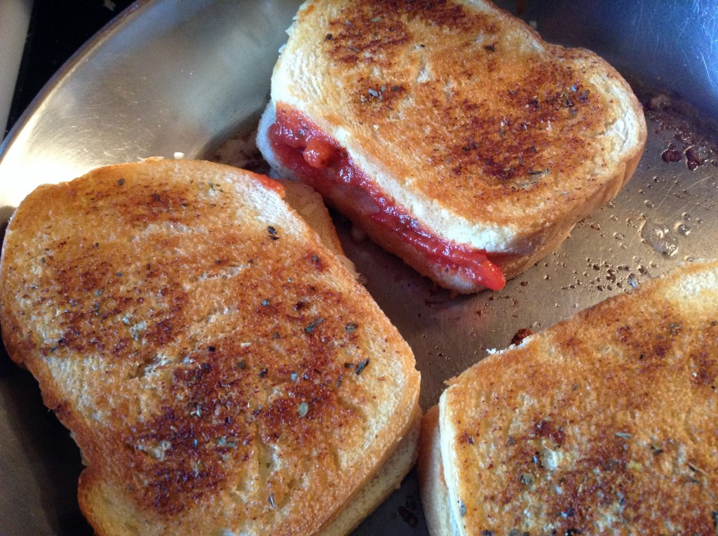 food blog pizza sandwiches