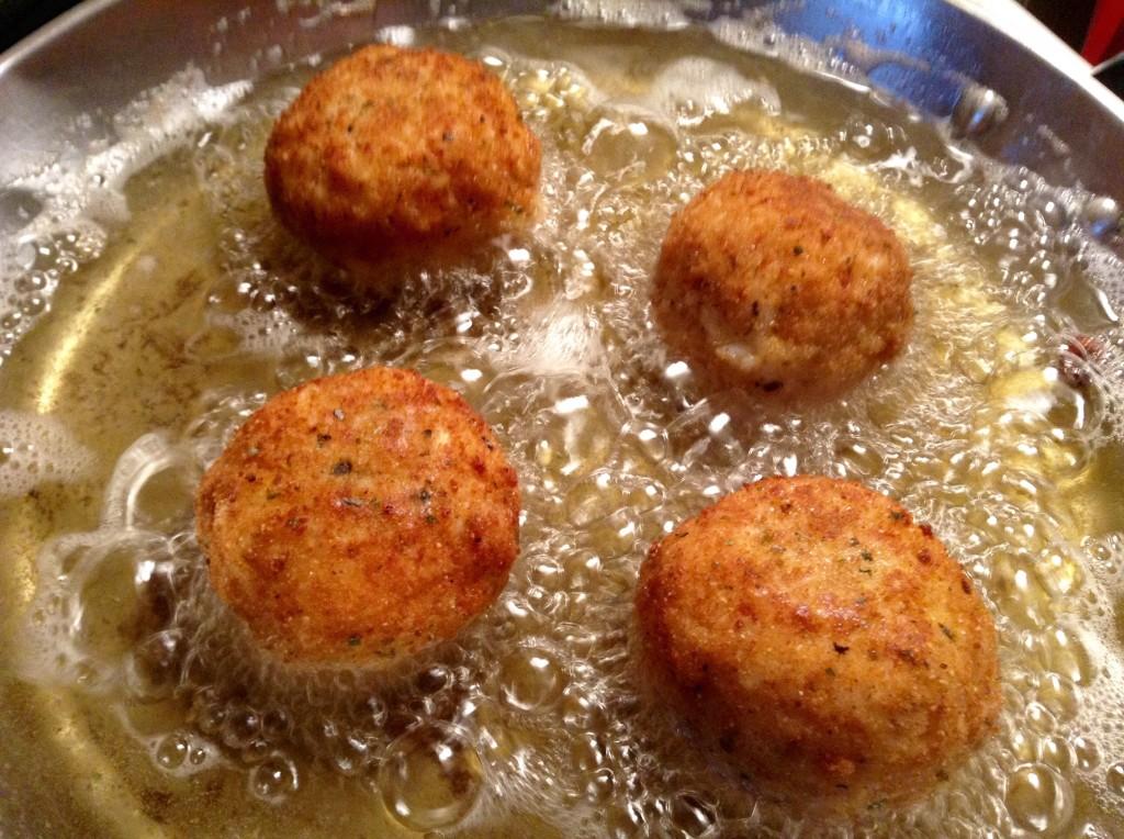 food blog suppli frying