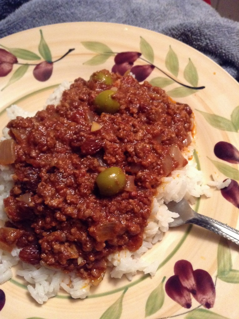 food blog picadillo