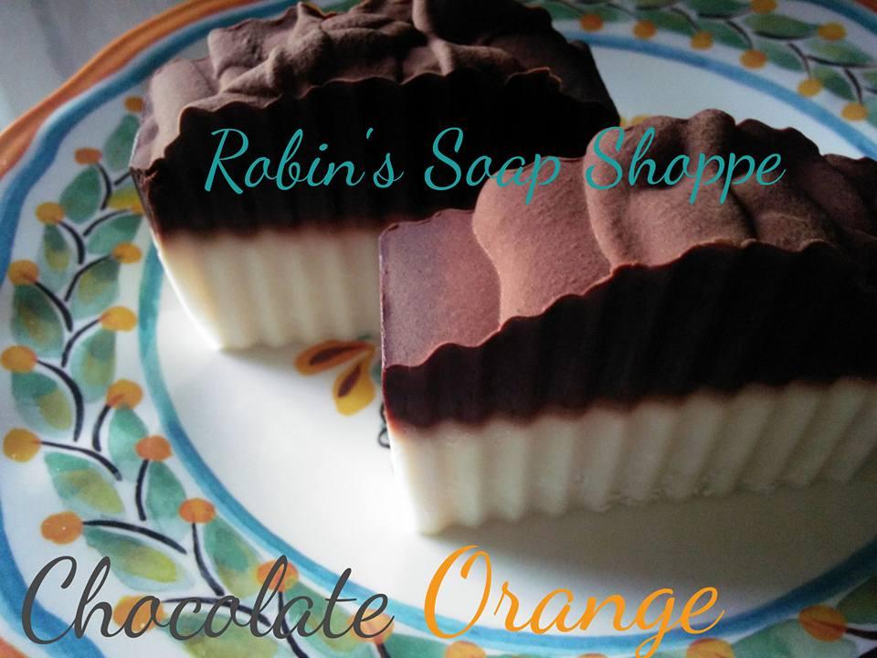 soap chocolate orange