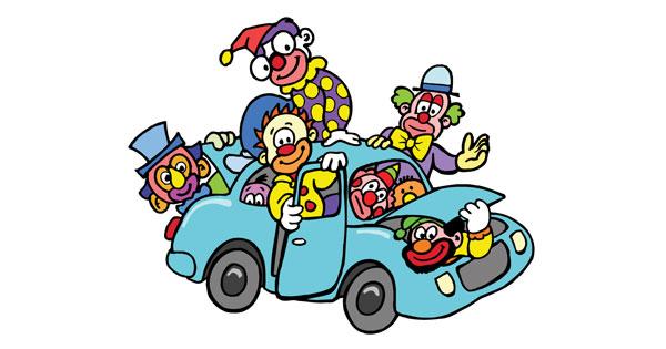 clown-car