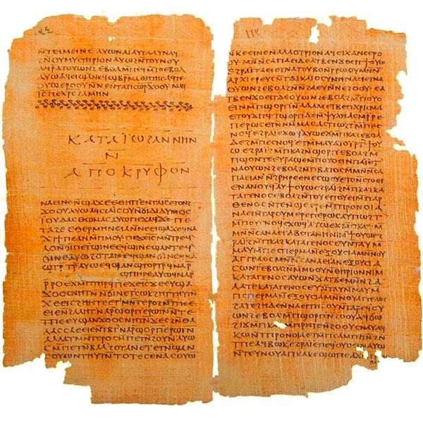 Gospel of Thomas and Apocryphon of John, Codex II The Nag Hammadi manuscripts