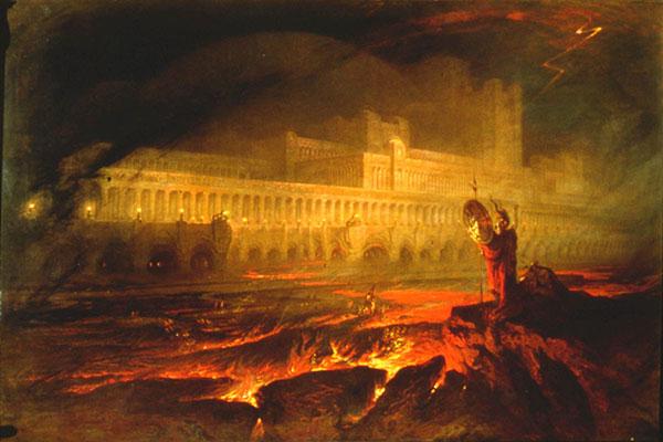 John Martin, Pandemonium, 1841