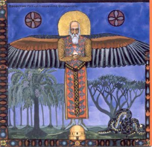 Philemon from Jung's Red Book