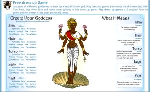 Dress Me Up Goddess