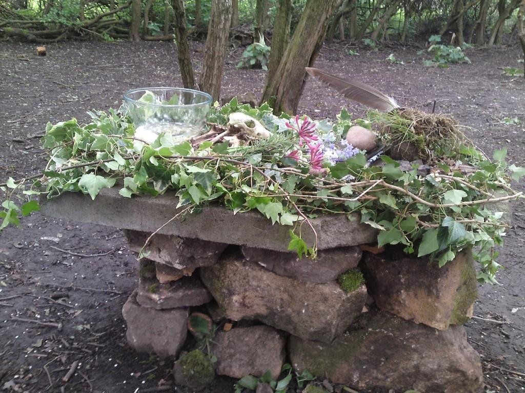 Hasfest Grove Altar 2012