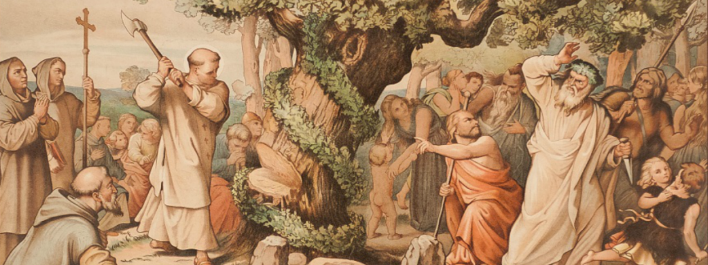 St.-Boniface-cutting-down-tree-of-Thor-1200x450