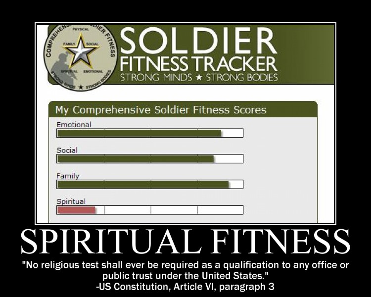 Spiritual Fitness motivational
