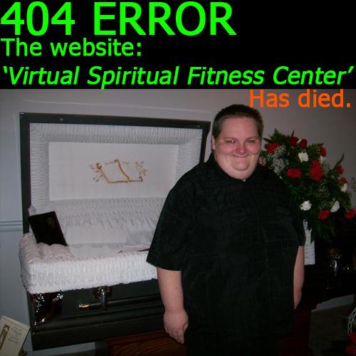 Wishful thinking: 404 on Army's Virtual Spiritual Fitness Center