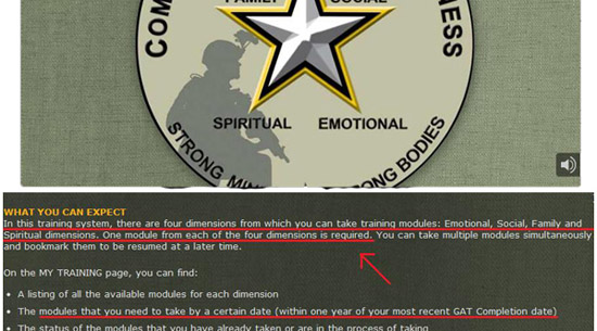 U S  Army forces Soldiers to learn Wiccan rituals, Christians need