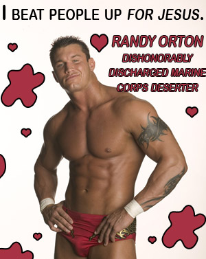 WWE wrestler Randy Orton is a Marine Corps Deserter and a disgrace