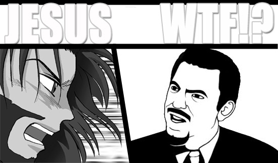 Manga Jesus vs David Silverman