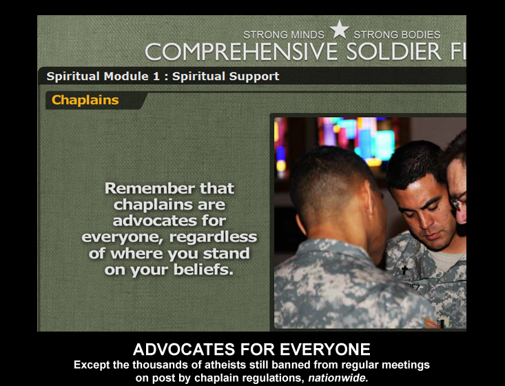Chaplains are advocates for everyone