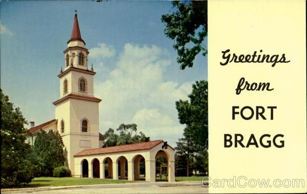 Fort Bragg main post chapel