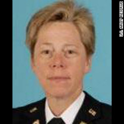 First openly gay general in the US Military, Brig Gen Tammy Smith