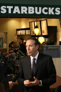 Howard Shultz, Starbucks Executive Chairman