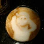 Coffee Art photo by Ted & Dani Percival.