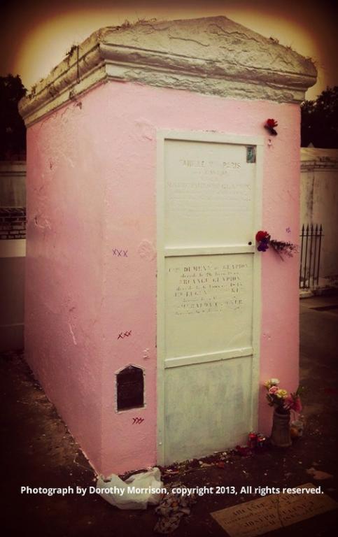 Marie Laveau's Tomb is Pink: Shame, Shame, Shame! | Lilith ...