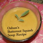 Oshun Butternut Squash Soup Recipe photo by Lilith Dorsey. All rights reserved.