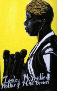 Street Art Mural- Every Mother's Son lead artist Sophia Dawson. All rights reserved. Photo by Lilith Dorsey.