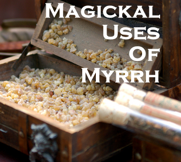 Frankincense and Myrrh photo courtesy of Shutterstock.