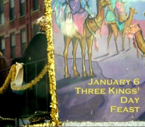 Three Kings' Day float photo by Lilith Dorsey. All rights reserved.