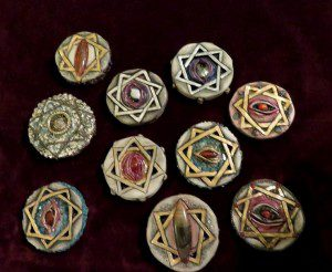 Women of Babalon talismans created by Mishlen Linden. All rights reserved.