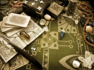 Still life with esoteric objects by Michaela Stejskalova. Photo courtesy of Shutterstock, all rights reserved.
