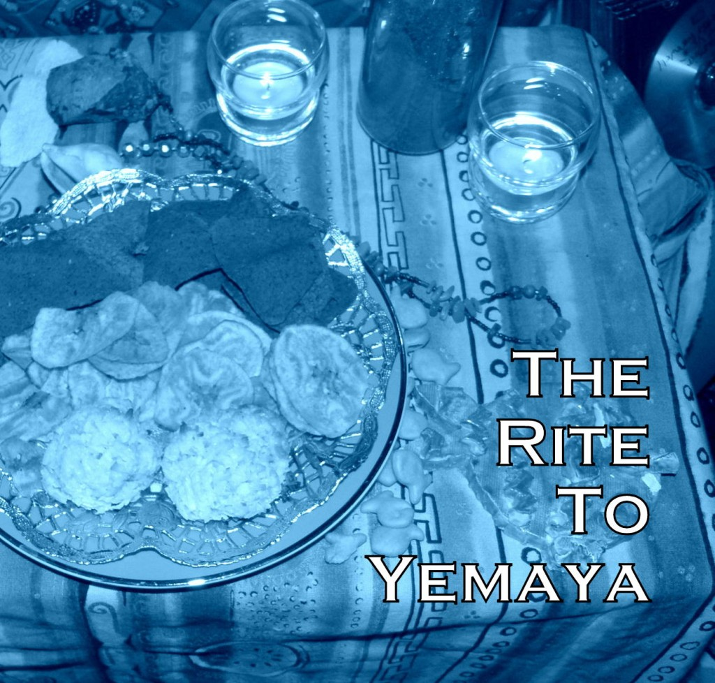 Yemaya offering photo by Lilith Dorsey. All rights reserved.