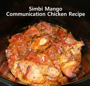 Simbi Mango Comunication Chicken photo by Lilith Dorsey. All rights reserved