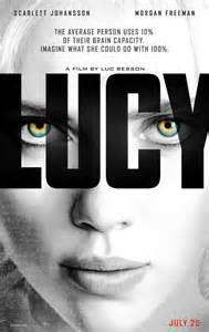 Lucy film poster. All rights reserved, image courtesy of